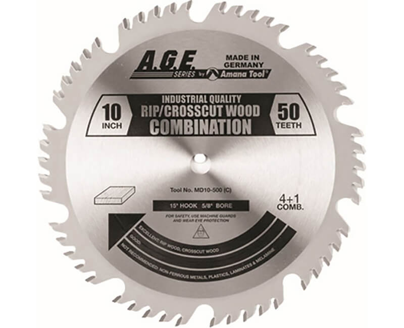 "10"" Combination Saw Blade - 50 Teeth"
