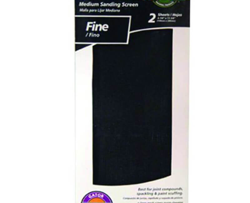 "4 1/4""x11 1/4"" Fine Dry Wall Sanding Screen - 2 Pack"