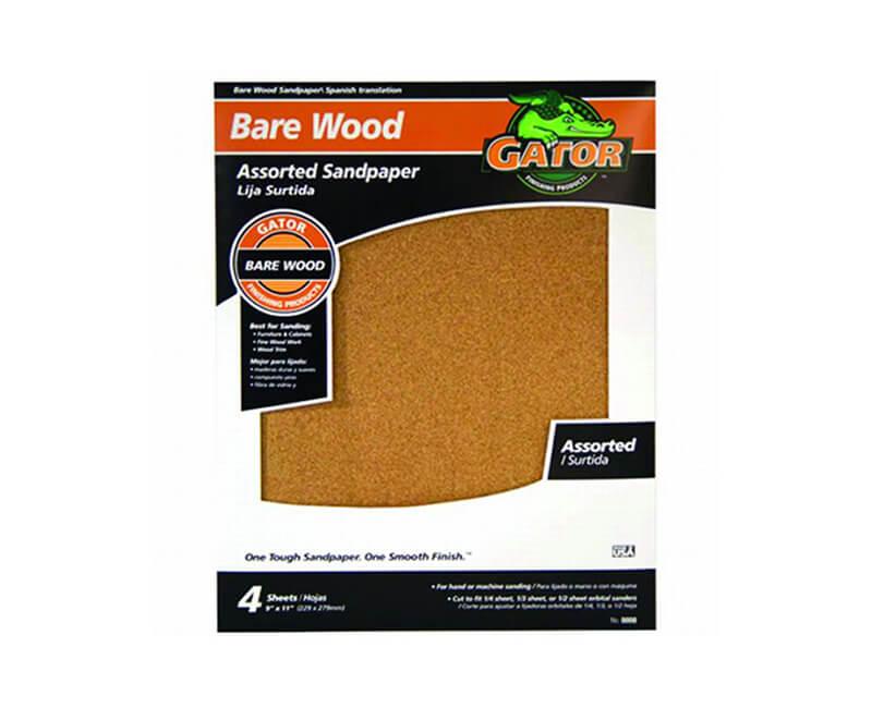 "9""x11"" Garnet Sandpaper - Assorted Grit"