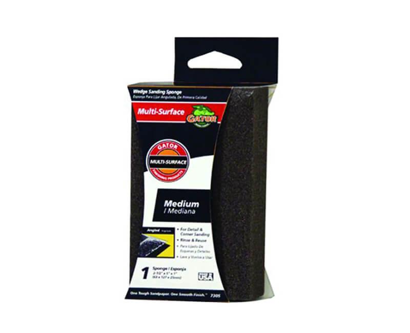 Jumbo Dual Wedge Sanding Sponge - Medium