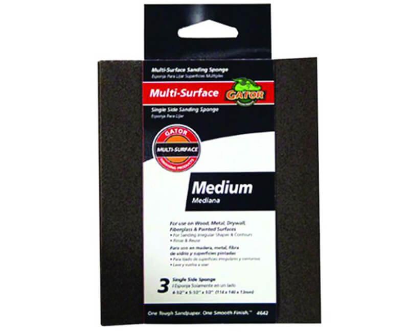 "4 1/2""x5 1/2"" Flexible Sanding Pad - Medium"