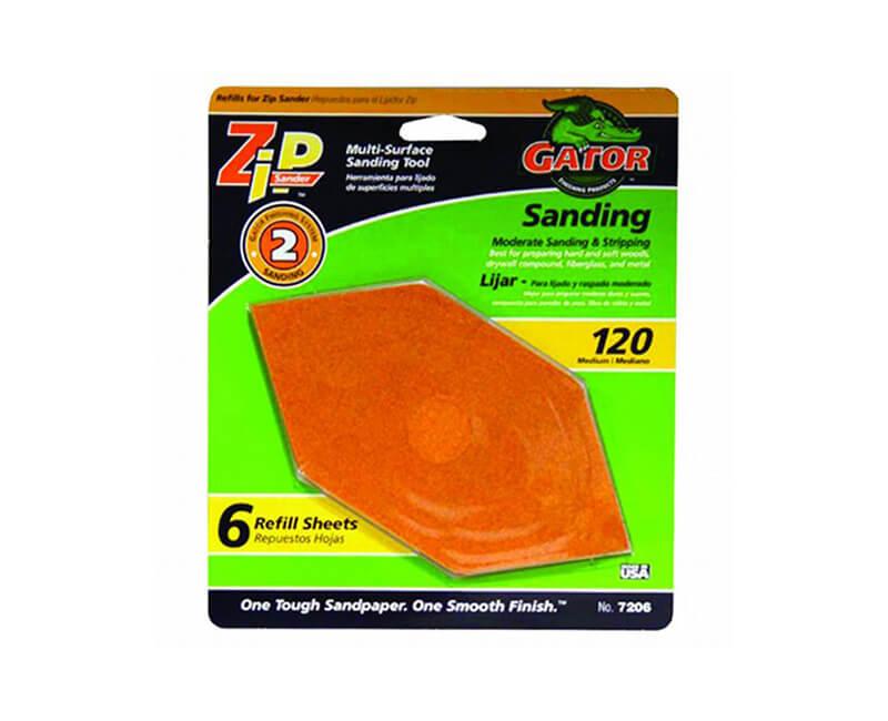 Zip Sander 120 Grit Refill