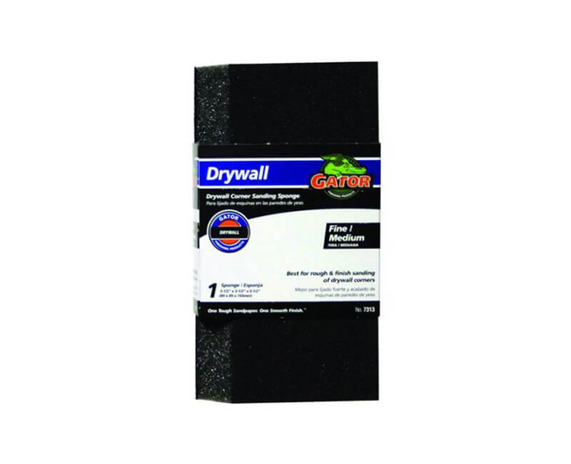 Drywall Corner Sanding Sponge - Fine/Medium