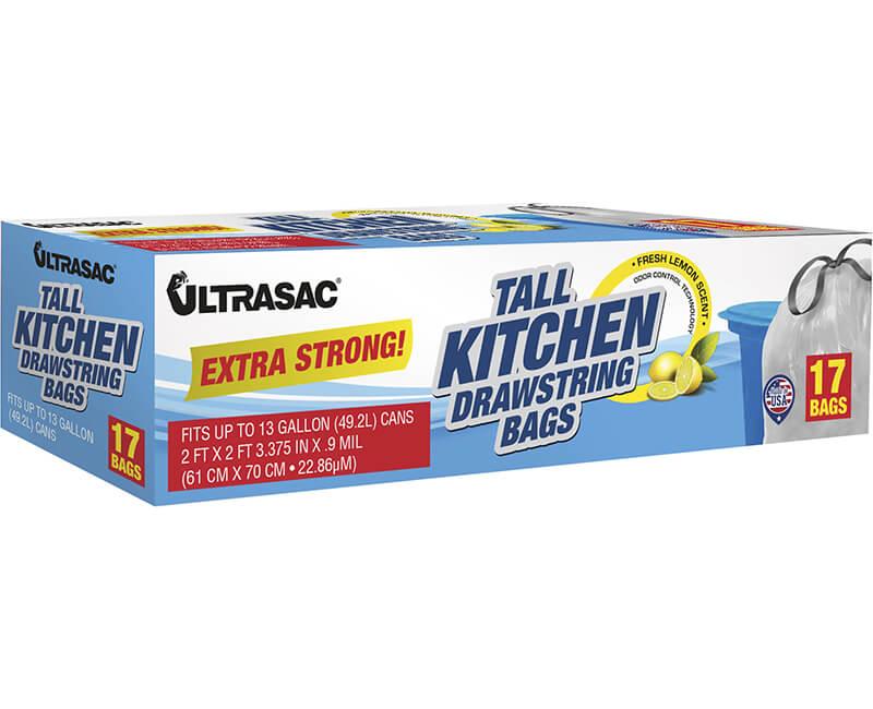 13 GAL Scented Drawstring Kitchen Bag