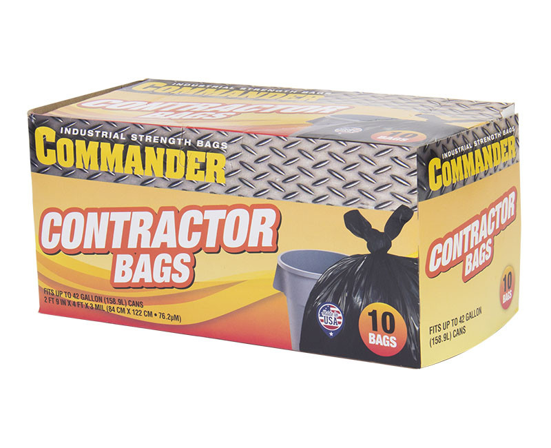 42 Gal. Commander Contractor Bags - 10 Pack
