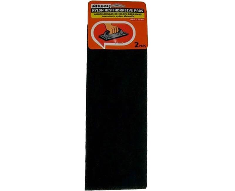 """4""""x11 1/2"""" Abrasive Nylon Pads"""