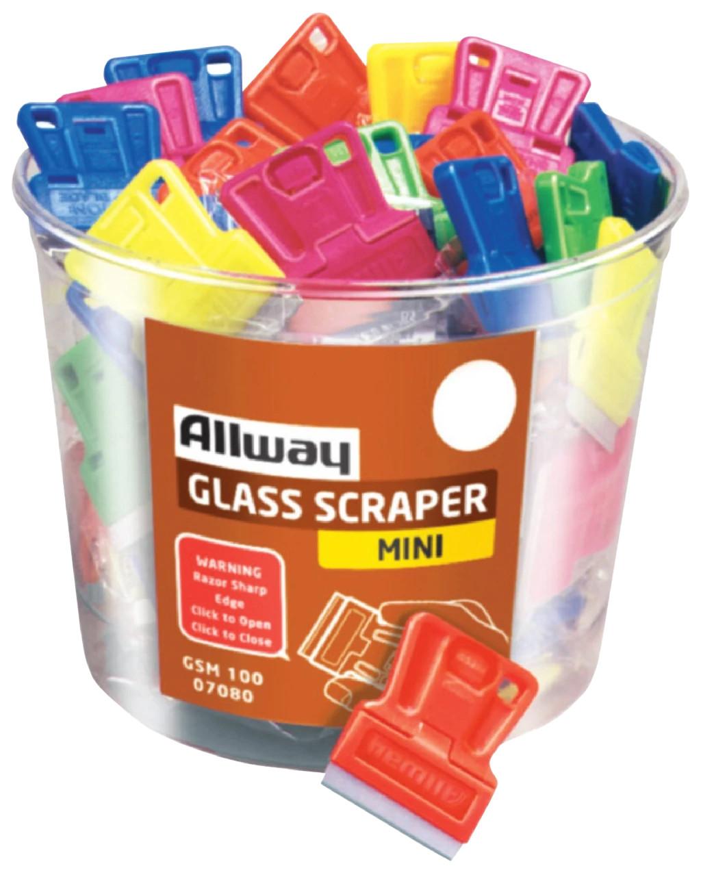 MINI GLASS SCRAPER BUCKET
