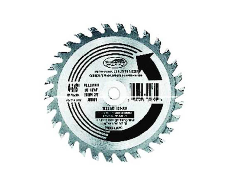 "4 3/8""x 30 Teeth Thin Kerf Saw Blade"