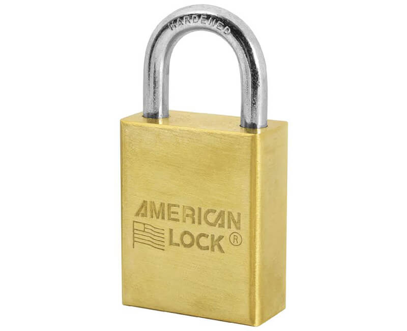 "1 1/2"" Wide Body Brass Padlock - Carded KD"