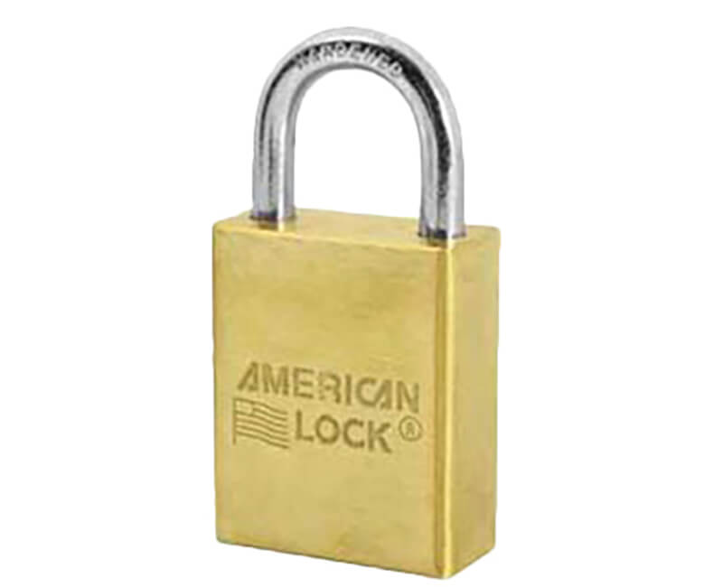 "1 1/2"" Wide Body Brass Padlock - Boxed KA"