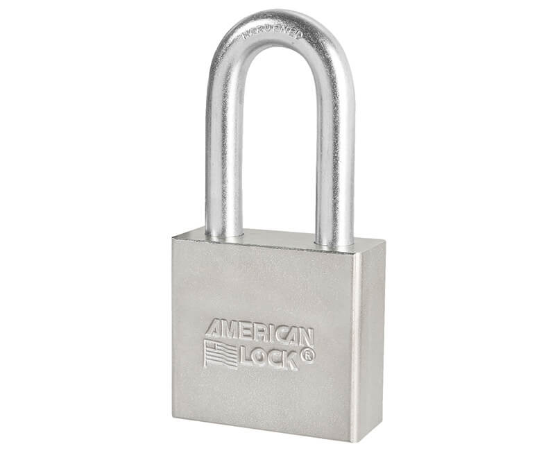 "2"" Steel Body Long Shackle Padlock - Carded KD"