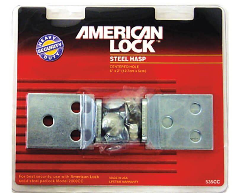 Heavy Duty Zinc Hasp For 2000 Padlock