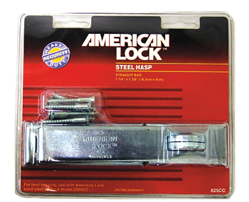 Heavy Duty Zinc Straight Bar Hasp