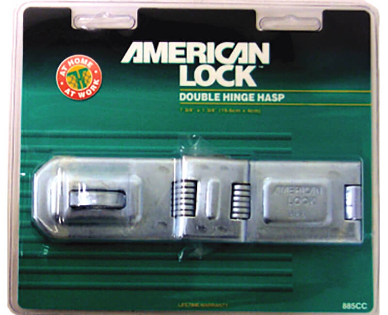 Heavy Duty Double Hinge Hasp