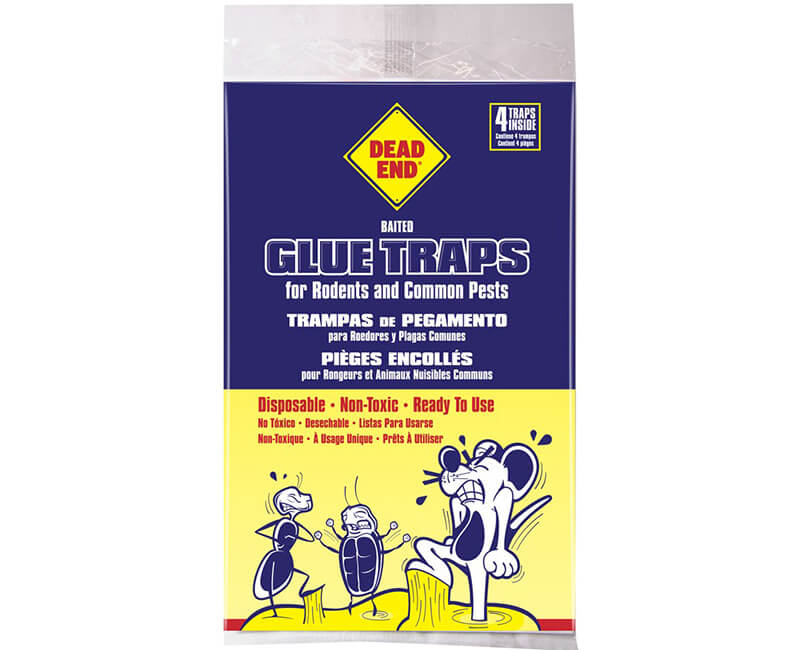 Mouse Glue Board - 4 Pack