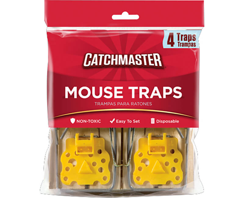 Snap Mouse Trap - 4 Pack