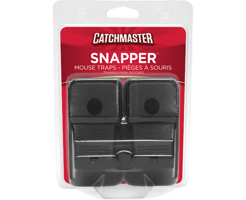 Plastic Rodent Snap Trap - 2 Pack