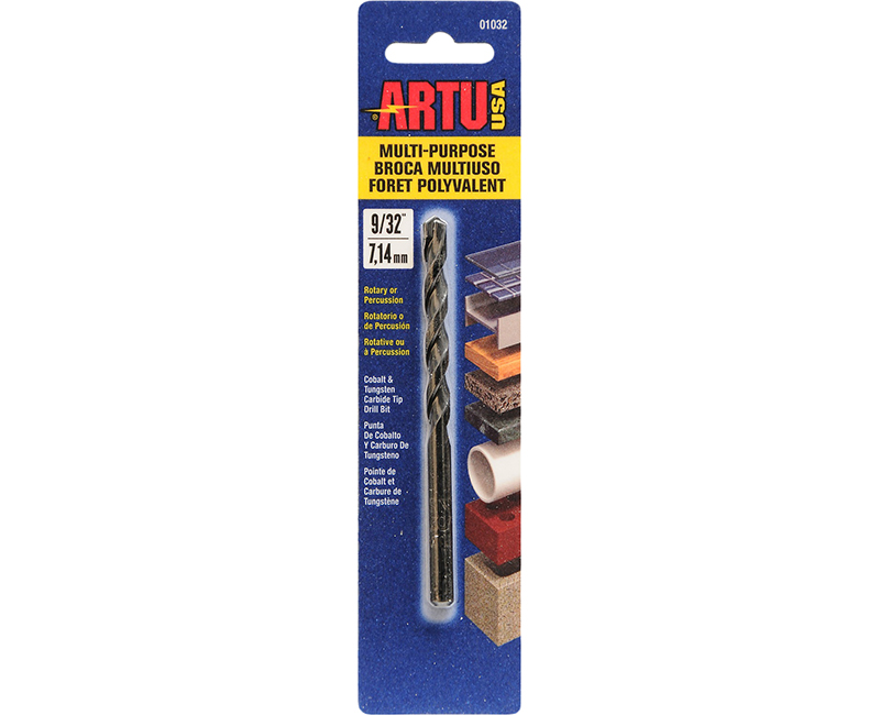 "9/32"" X 4-3/8"" Multi Purpose Dril Bit"