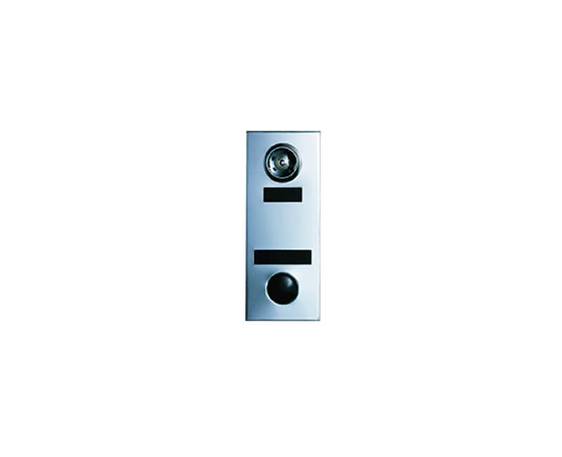 Anodized Aluminum Door Chime With Viewer