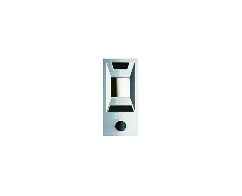Silver Powder Door Chime With Viewer