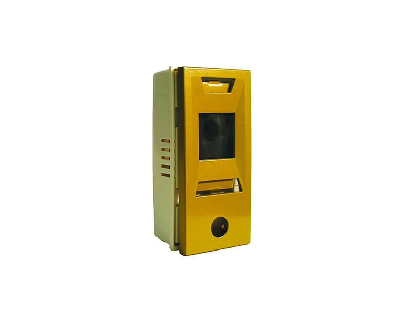 Gold Powder Door Chime With Viewer