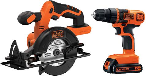 20V Max 2 Tool Combo Kit W/Circular Saw + Drill Driver