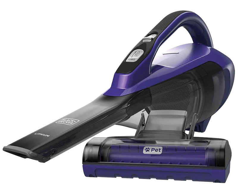 ADVANCED CLEAN DUSTBUSTER W/ PET HEAD PURPLE