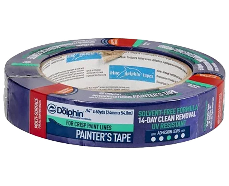 "1"" X 60 YD BLUE PAINTER'S TAPE"