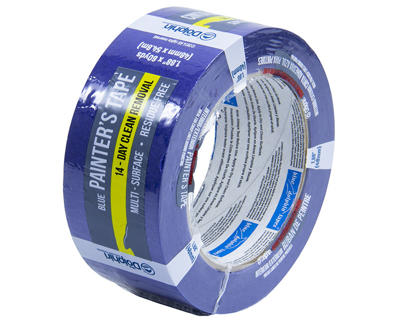 "2"" X 60 YD BLUE PAINTER'S TAPE"