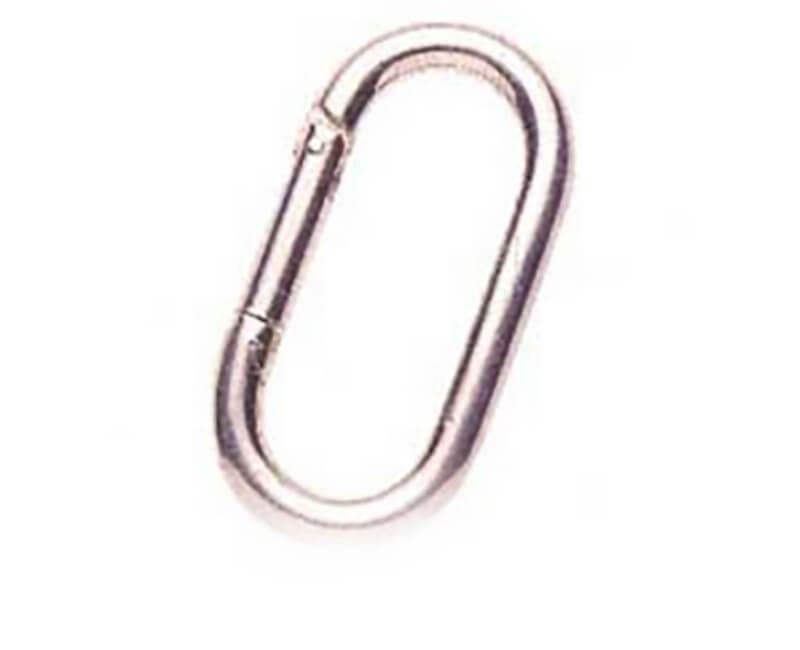 "4"" X 5/8"" Spring Hook - Zinc"