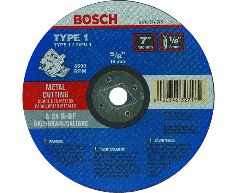 Abrasive Metal Cutting Wheel