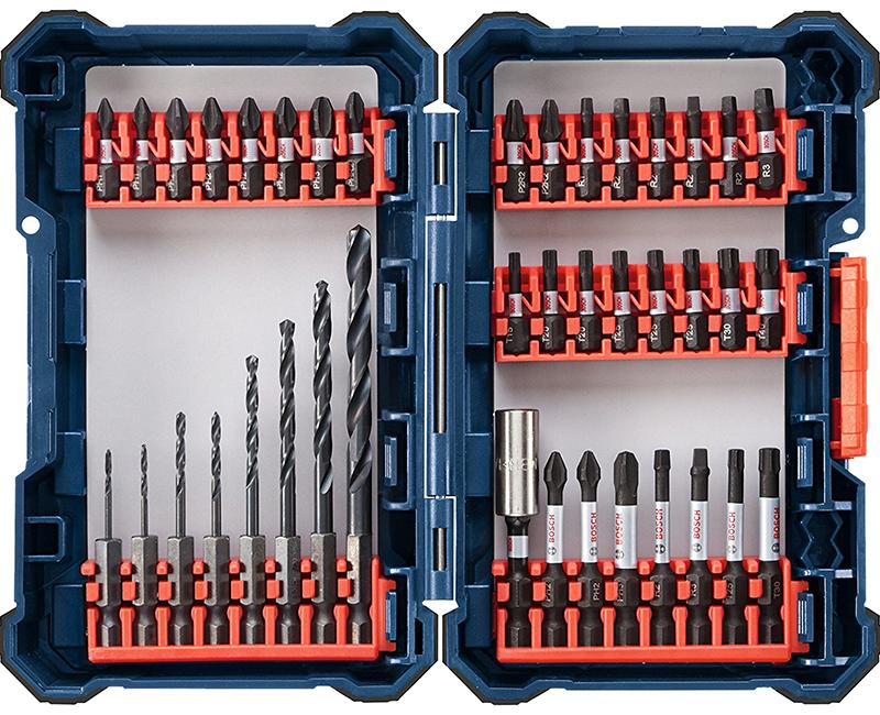 Impact Drill Mixed Modular Set - 40 Pieces
