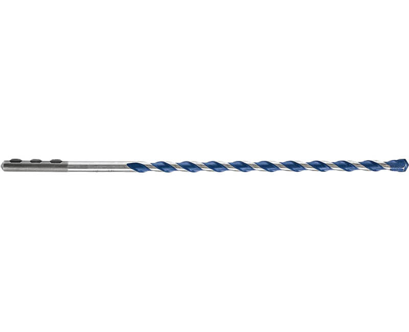 "1/4"" x 12"" Blue Granite Masonry Bit"