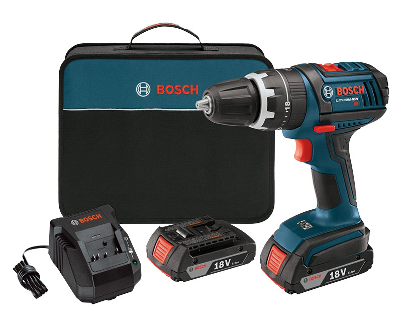 18V Compact Hammer Drill/Driver