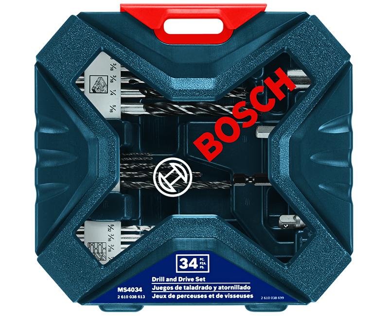 34 Piece Drill & Drive Set