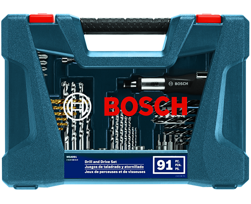 91 Piece Drill & Drive Set