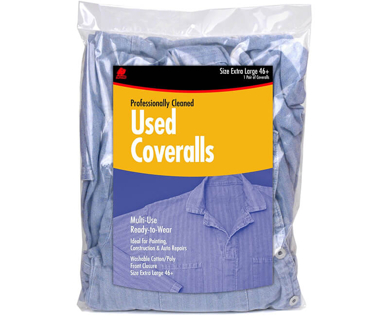 Heavy Duty Used Coveralls - Extra Large