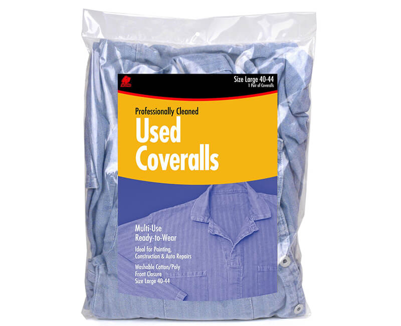 Heavy Duty Used Coveralls - Large