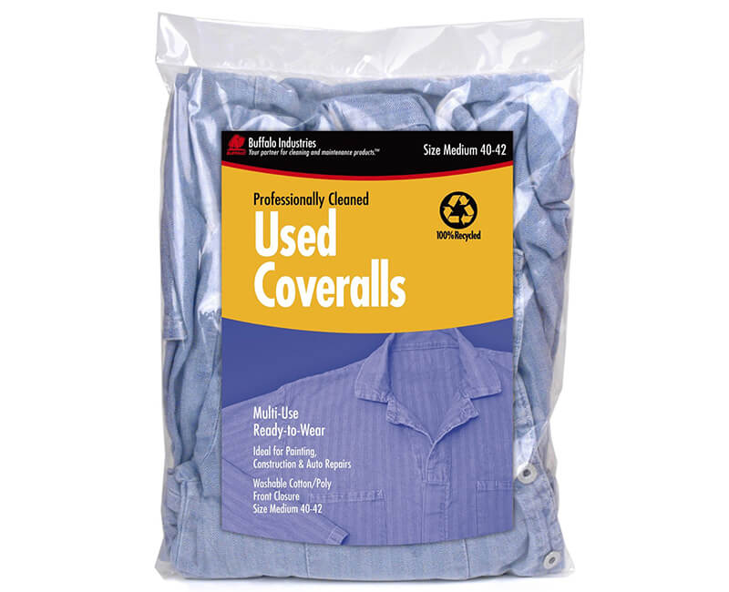 Heavy Duty Used Coveralls - Medium