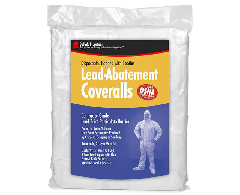 Lead Abatement Coverall - Large
