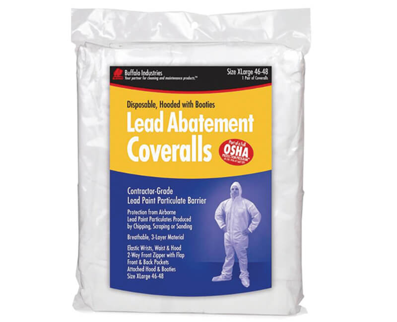 Lead Abatement Coverall - X-Large
