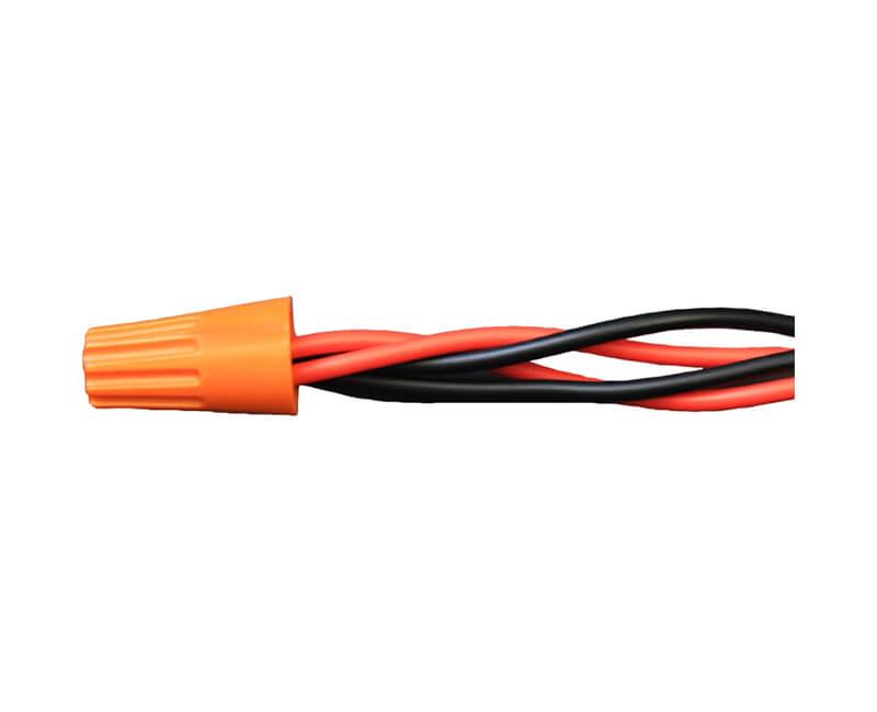 Standard Twist-On Wire Connector - Orange 100 Per Pack