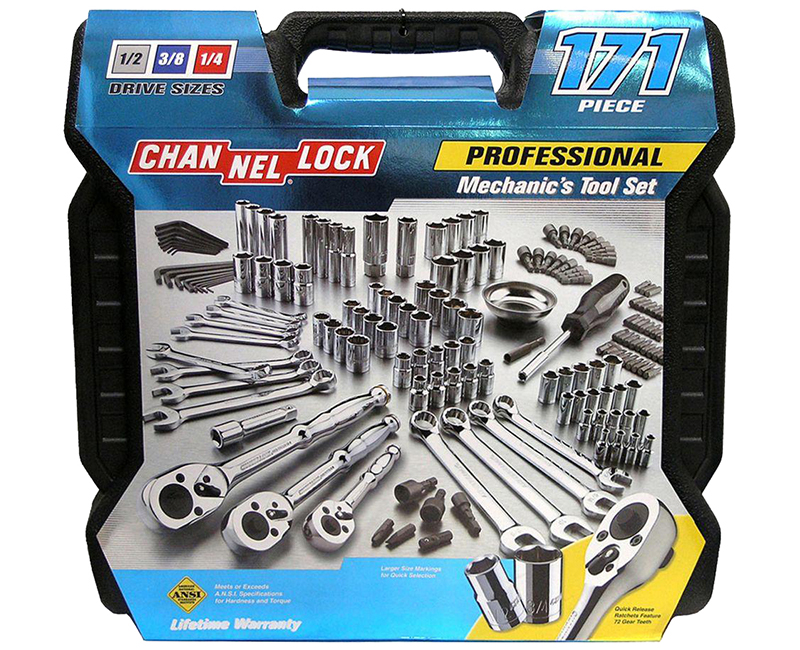171 Piece Mechanics Tool Set