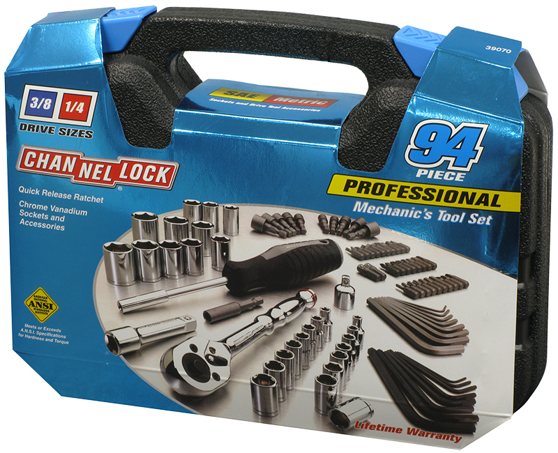 Mechanic's 94 PC. Socket Set