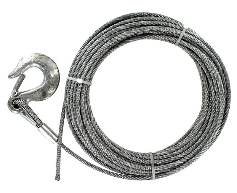 1/4 - 9 X 19 Pre-Cut Cable - 50' Carded