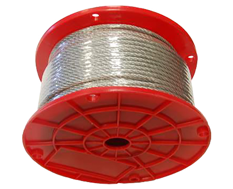 "1/16"" - 7 X 7 Galavanized Wire Rope - 500' Reel"