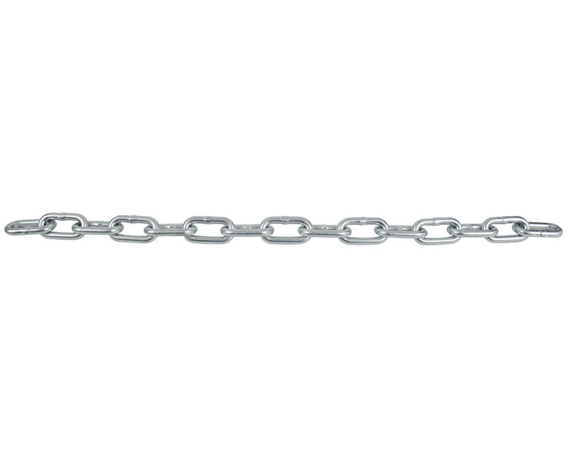 "3/16"" Zinc Plated Proof Coil Chain - 150' Square Pail"