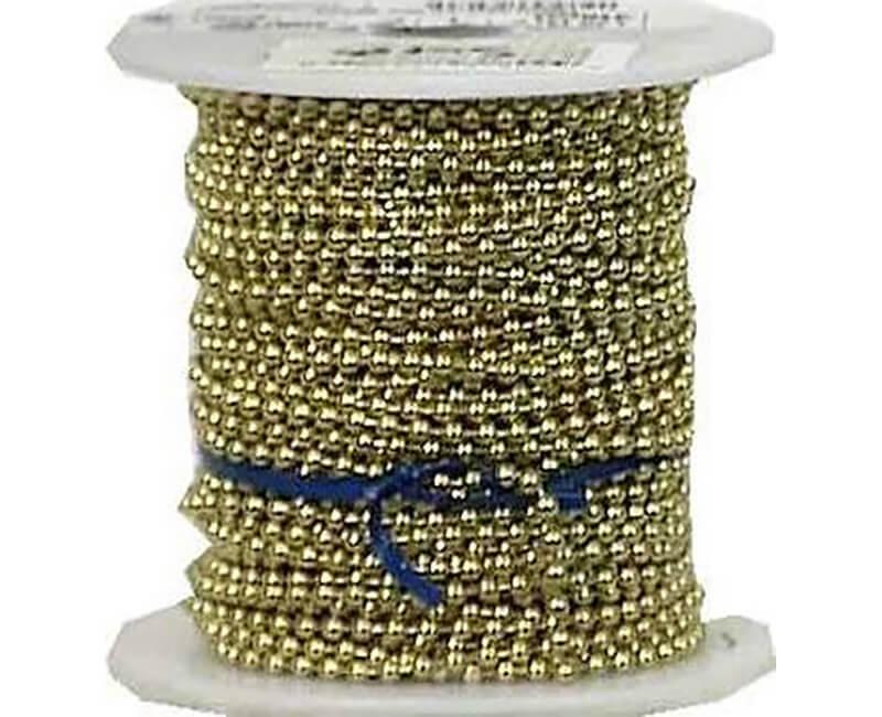 #6 Yellow Brass Ball Chain Connector - 100 Ber Bag