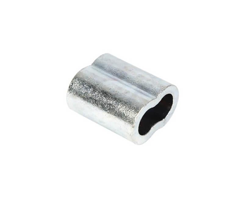 """3/32"""" Aluminum Sleeve For Aircraft Aluminum - 100 Per Box"""