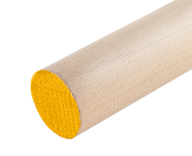 "3/8"" Orange Hardwood Dowel"
